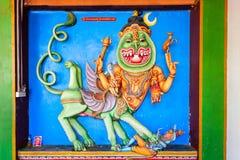 Munneswaram temple, Sri Lanka. CHILAW, SRI LANKA - FEBRUARY 09, 2017: Munneswaram temple is an important regional Hindu temple complex in Sri Lanka stock photo