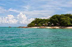 Munnok Island in Rayong Thailand Stock Images