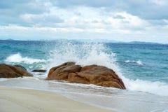 Munnork Island. This is sea of Munnork Island at Rayong,Thailand stock photography