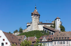 Munot fortress in Schaffhausen Royalty Free Stock Images