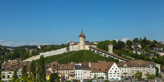 Munot Fortress in Switzerland Royalty Free Stock Images