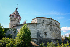 Munot fortress Royalty Free Stock Photography