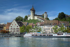 The Munot, Schaffhausen, Switzerland stock images