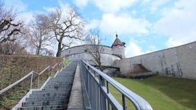 Munot, Schaffhausen, Zwitserland stock afbeeldingen