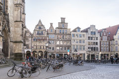 Munster, a city of bikes Stock Photography