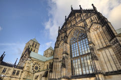 Munster Dom in Germany Royalty Free Stock Images