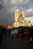 Munster Dom i Tyskland Fotografering för Bildbyråer