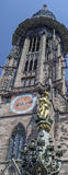 Munster Freiburg μαύρο δασικό κεφάλαιο, Γερμανία Στοκ Εικόνες