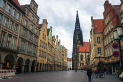 Munster, Germania immagini stock libere da diritti