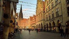 Munster, Germania fotografie stock libere da diritti