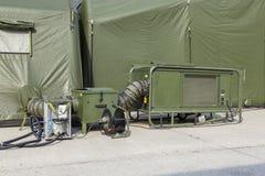 German military field hospital stock photos