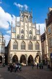Munster Tyskland Royaltyfria Foton