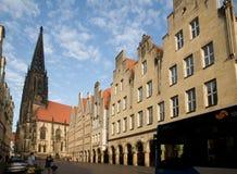 Munster Tyskland Arkivfoto