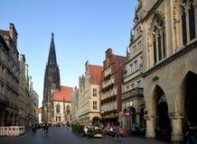 Munster Tyskland Royaltyfri Foto