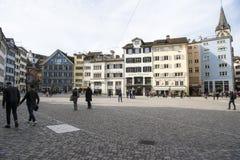 Munsterplatz, Zurich Royalty Free Stock Image
