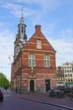Munt Kontrollturm, Amsterdam, die Niederlande Lizenzfreie Stockfotos