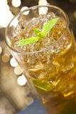 Munt-medicijndrankje cocktail Stock Afbeelding