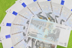 Munt van de Europese Unie. Stock Foto
