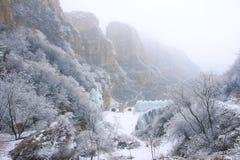 Muntain di inverno Fotografia Stock
