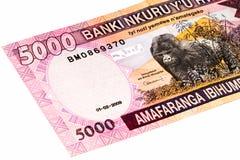 Muntbankbiljet van Afrika Royalty-vrije Stock Afbeeldingen