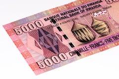 Muntbankbiljet van Afrika Royalty-vrije Stock Fotografie