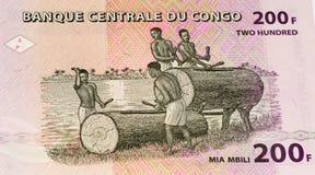 Muntbankbiljet van Afrika Royalty-vrije Stock Foto