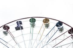 munterhetferris parkerar hjulet Arkivbild