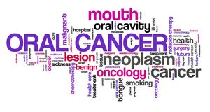 Muntlig cancer royaltyfri illustrationer
