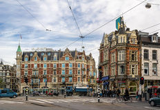 Muntplein in Amsterdam Stock Photo