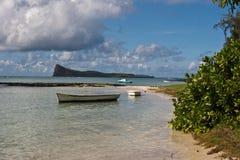 Muntstuk DE mire Mauritius stock foto's