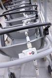 Muntstuk die systeem voor rolstoelen openen Royalty-vrije Stock Afbeeldingen
