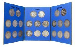 muntstukinzameling royalty-vrije stock afbeeldingen