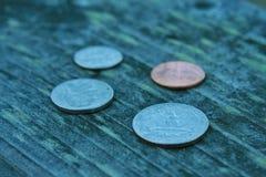 muntstukken Stock Afbeeldingen