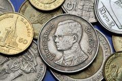 Muntstukken Thailand Royalty-vrije Stock Foto