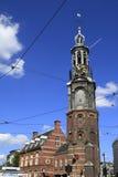 The Munttoren  in Amsterdam Royalty Free Stock Photos