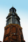 Munttoren clock tower in Amsterdam Royalty Free Stock Photos