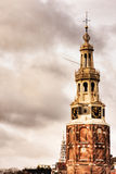 Munttoren Tower. In Amsterdam, Holland Stock Photography