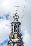 The Munttoren tower in Amsterdam, Netherlands. Stock Image