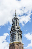 The Munttoren tower in Amsterdam, Netherlands. Royalty Free Stock Photo