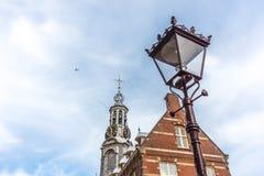 The Munttoren tower in Amsterdam, Netherlands. Stock Photography
