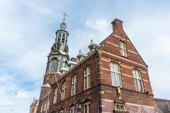 The Munttoren tower in Amsterdam, Netherlands. Royalty Free Stock Photo