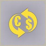 Muntuitwisseling, bankwezen, globale financiën, Beeld Royalty-vrije Stock Afbeeldingen