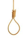 Muoia su una corda Immagine Stock