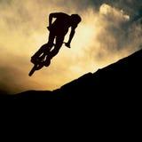 Muontain-bici Imagen de archivo libre de regalías