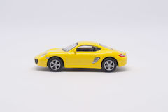 Muore l'automobile del giocattolo della colata Fotografie Stock