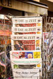 Muore Zeit, Bild, Suddeutsche Zeitung, Neue Burcher Zeitung, Taz a Immagini Stock