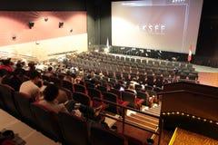 Muova il teatro Fotografie Stock Libere da Diritti