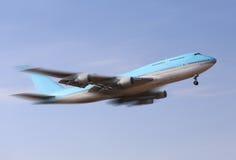 Muoversi dell'aeroplano Fotografia Stock