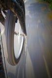 Muoversi della bici fotografie stock libere da diritti