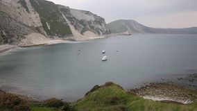 Mupe Bay east of Lulworth Cove Dorset England PAN Royalty Free Stock Photos